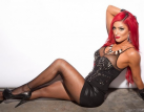 Eva Marie's fantastic body and flaming red hair entices big screen filmmakers