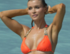 Joanna Krupa stuns fans with braless look at Life & Style party