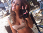 Melanie Iglesias is scintillating in lingerie as Muscle & Fitness Alpha female