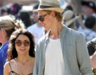 Vanessa Hudgens and Austin Butler kiss the night away