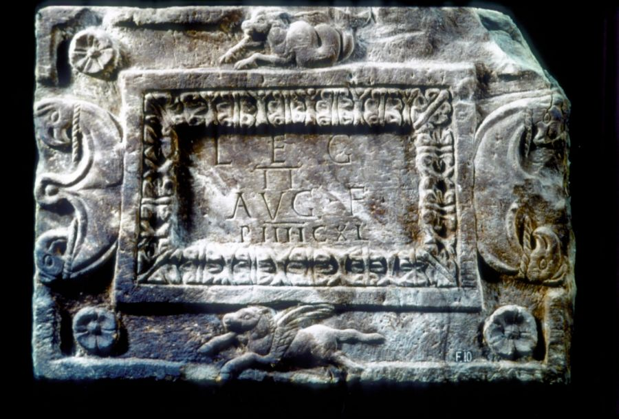 Distance Slab Of The Ii Legion