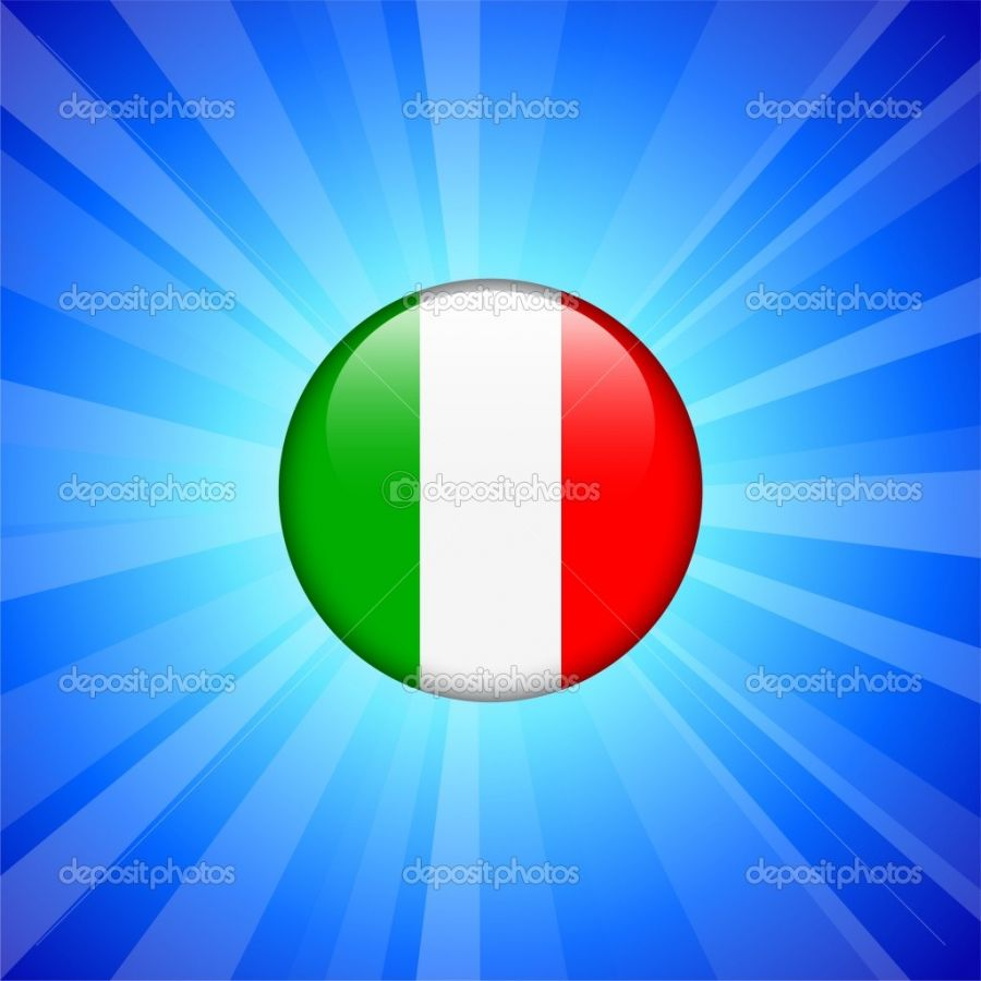 Depositphotos Italy Flag Icon On Internet Button