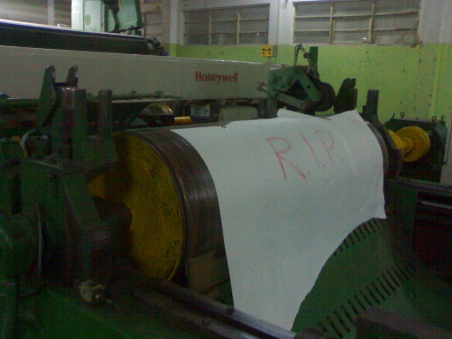 Pope Paper Machine