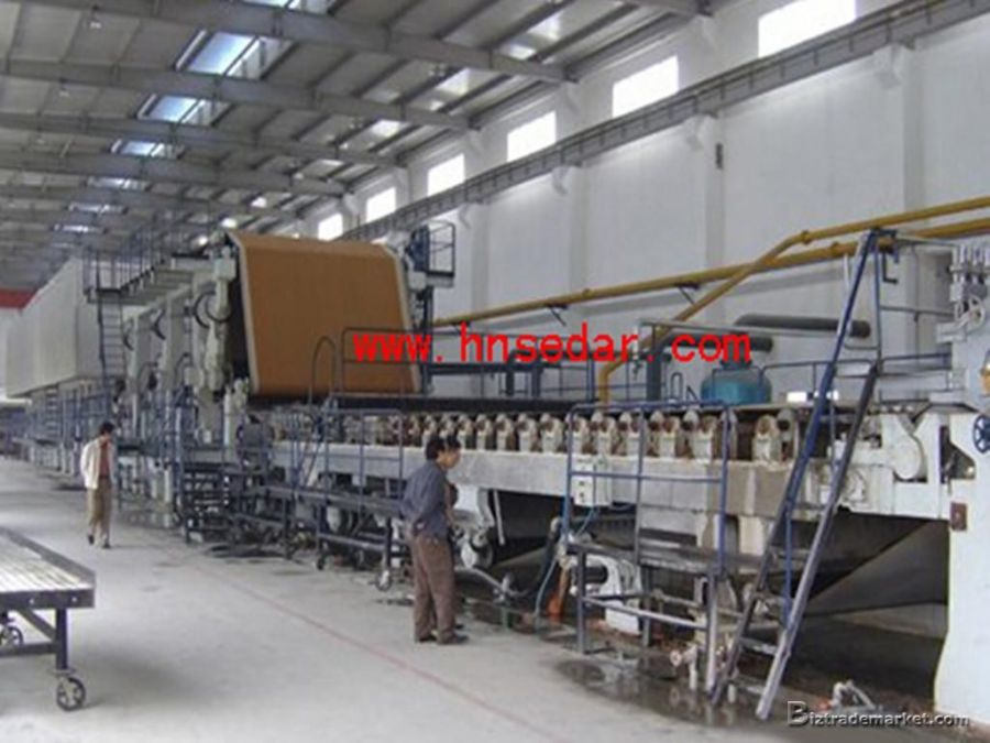 Mm Corrugated Paper Machine