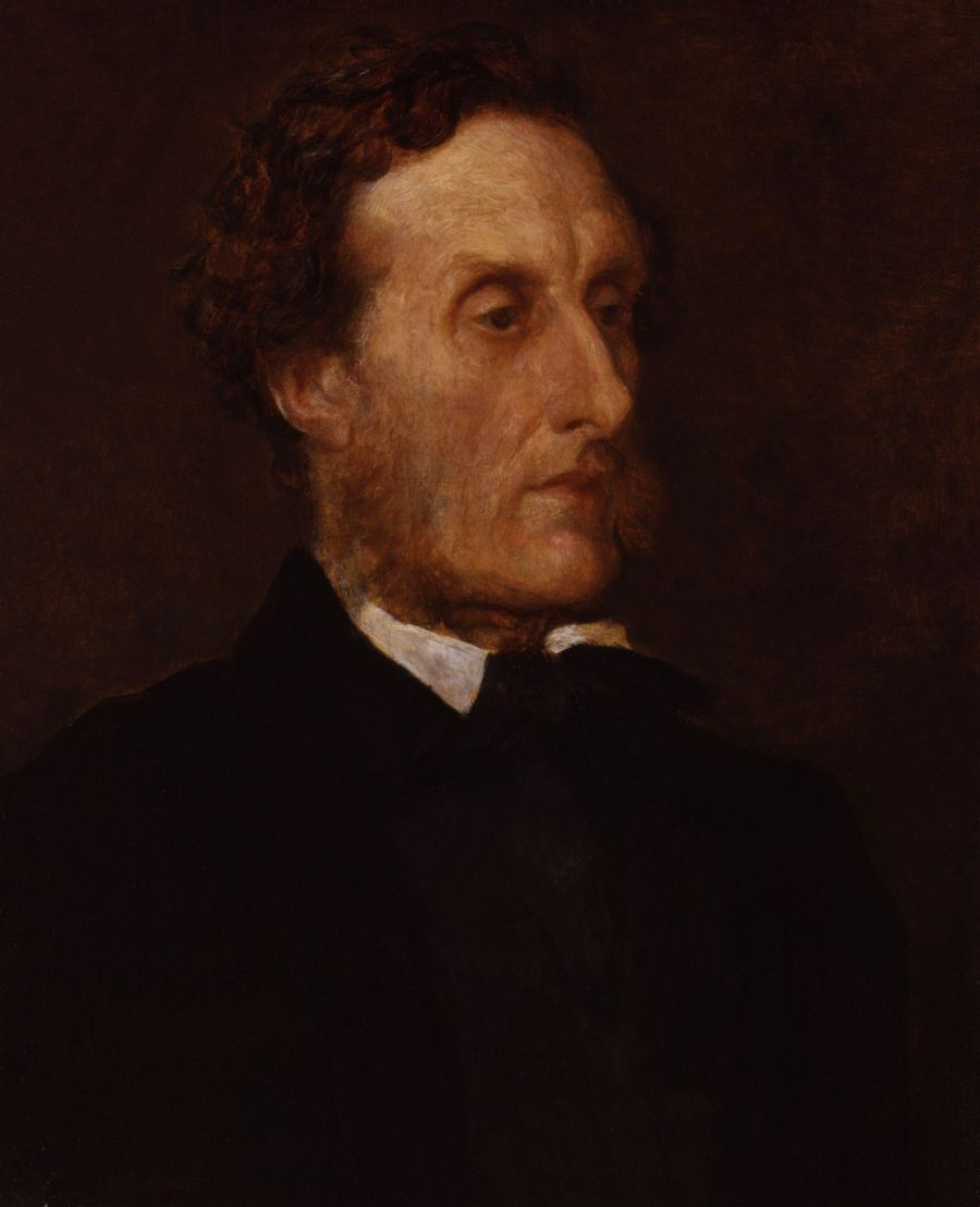 Anthony Ashley Cooper Th Earl Of Shaftesbury By George Frederic Watts