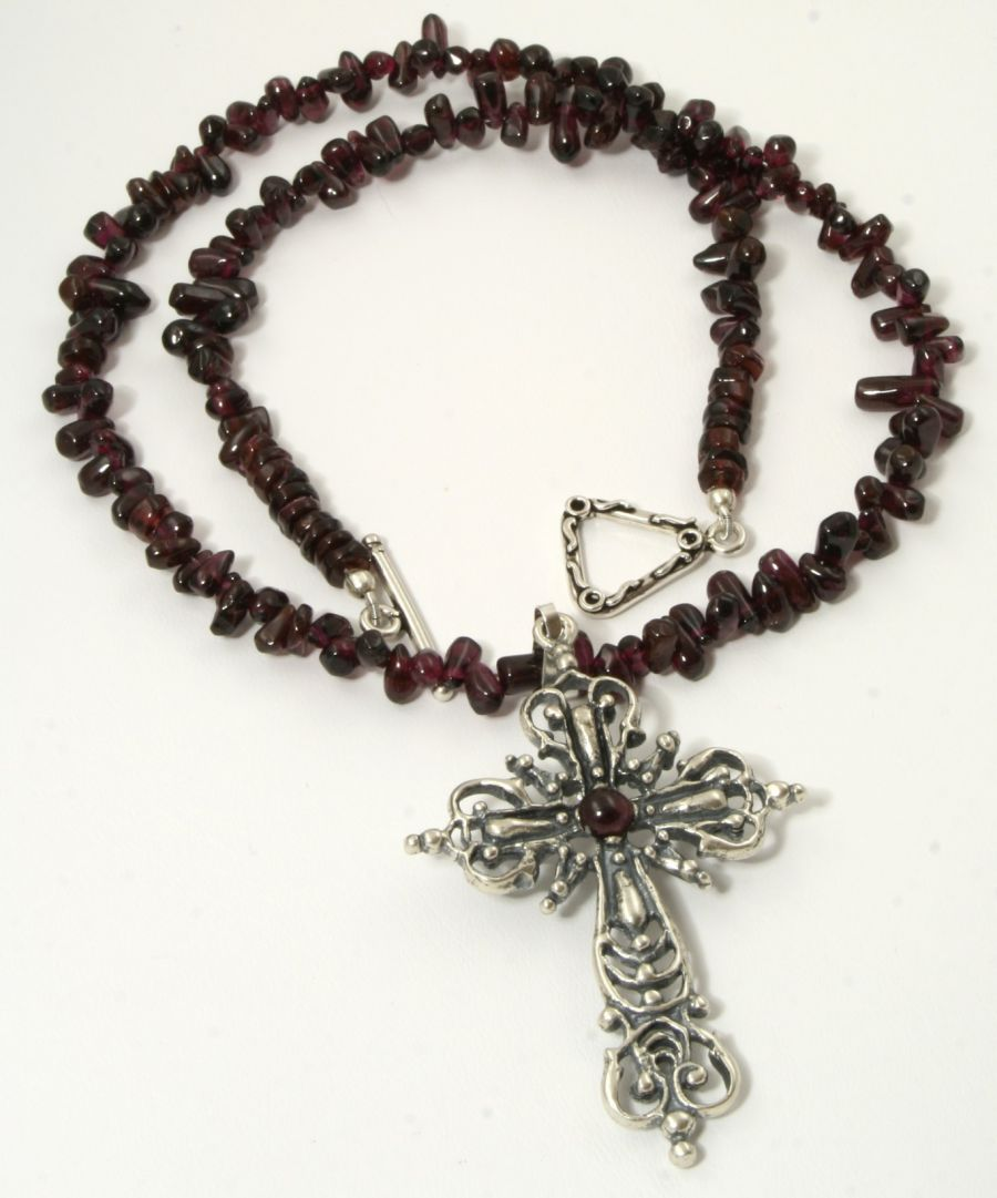 Courage Necklace Cross