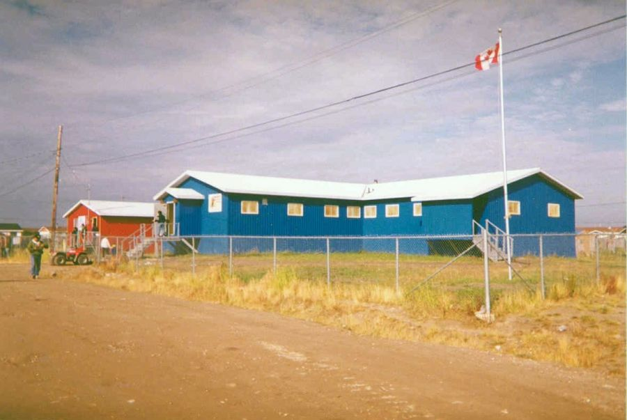 Attawapiskat First Nation Office In Attawapiskat Ontario Canada