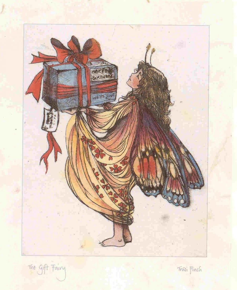 Fairy With Gift
